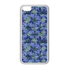 Modern Nature Print Pattern 7200 Apple Iphone 5c Seamless Case (white)