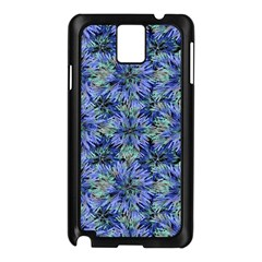 Modern Nature Print Pattern 7200 Samsung Galaxy Note 3 N9005 Case (black)