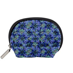 Modern Nature Print Pattern 7200 Accessory Pouches (small)