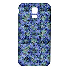 Modern Nature Print Pattern 7200 Samsung Galaxy S5 Back Case (white)