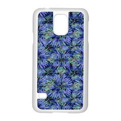 Modern Nature Print Pattern 7200 Samsung Galaxy S5 Case (white)