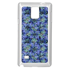 Modern Nature Print Pattern 7200 Samsung Galaxy Note 4 Case (white)