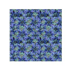 Modern Nature Print Pattern 7200 Small Satin Scarf (square) by dflcprints