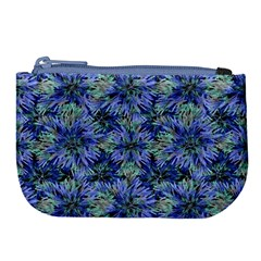 Modern Nature Print Pattern 7200 Large Coin Purse