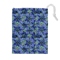 Modern Nature Print Pattern 7200 Drawstring Pouches (extra Large)