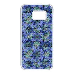 Modern Nature Print Pattern 7200 Samsung Galaxy S7 White Seamless Case by dflcprints