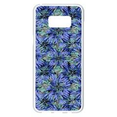 Modern Nature Print Pattern 7200 Samsung Galaxy S8 Plus White Seamless Case