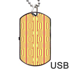 Pattern Factory 4181c Dog Tag Usb Flash (two Sides) by MoreColorsinLife