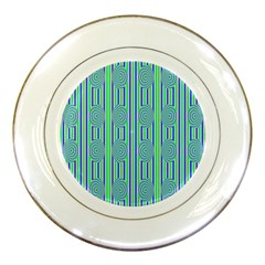 Pattern Factory 4181a Porcelain Plates by MoreColorsinLife
