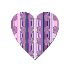 Pattern Factory 4181b Heart Magnet by MoreColorsinLife