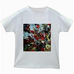 Eden Garden 11 Kids White T Shirts