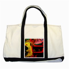 Abandoned Mine 2 Two Tone Tote Bag