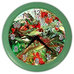 Eden Garden 8 Color Wall Clocks