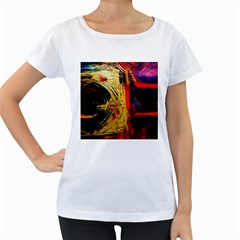 Abandoned Mine 1 Women s Loose Fit T Shirt (white)