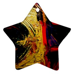 Abandoned Mine 1 Star Ornament (two Sides)