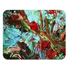 Eden Garden 7 Double Sided Flano Blanket (large)
