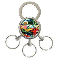 Aerobus 3 Ring Key Chains