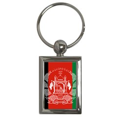 Flag Of Afghanistan Key Chains (rectangle)