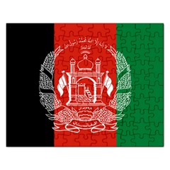 Flag Of Afghanistan Rectangular Jigsaw Puzzl