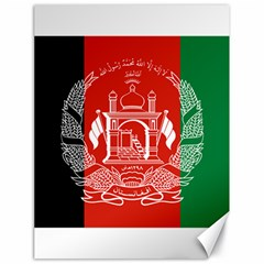 Flag Of Afghanistan Canvas 18  X 24