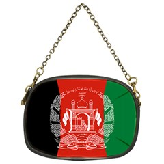 Flag Of Afghanistan Chain Purses (one Side)