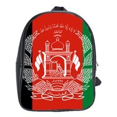 Flag Of Afghanistan School Bag (large)