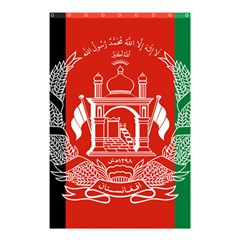 Flag Of Afghanistan Shower Curtain 48  X 72  (small)