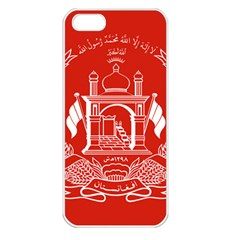 Flag Of Afghanistan Apple Iphone 5 Seamless Case (white)