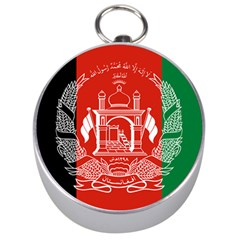 Flag Of Afghanistan Silver Compasses by abbeyz71
