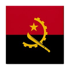 Flag Of Angola Tile Coasters