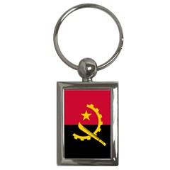 Flag Of Angola Key Chains (rectangle)
