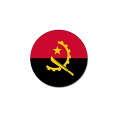 Flag Of Angola Golf Ball Marker