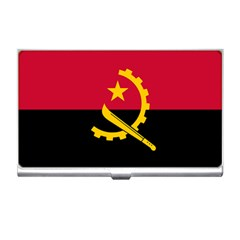 Flag Of Angola Business Card Holders