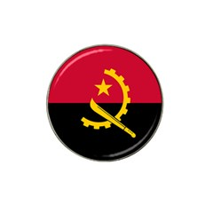 Flag Of Angola Hat Clip Ball Marker (4 Pack)