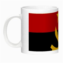 Flag Of Angola Night Luminous Mugs