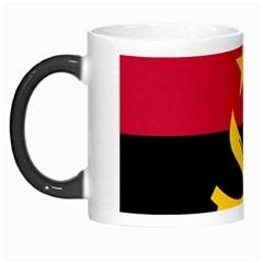 Flag Of Angola Morph Mugs