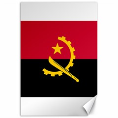 Flag Of Angola Canvas 20  X 30