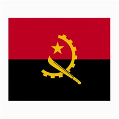 Flag Of Angola Small Glasses Cloth (2 Side)