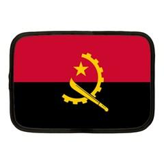 Flag Of Angola Netbook Case (medium)