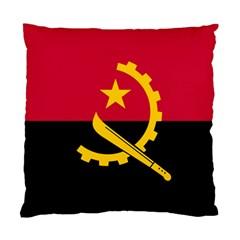 Flag Of Angola Standard Cushion Case (one Side)