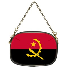 Flag Of Angola Chain Purses (two Sides)