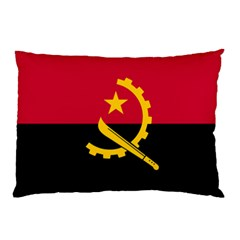 Flag Of Angola Pillow Case