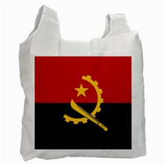 Flag Of Angola Recycle Bag (two Side)