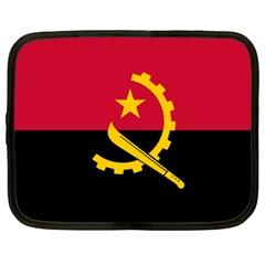 Flag Of Angola Netbook Case (xxl)