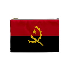 Flag Of Angola Cosmetic Bag (medium)