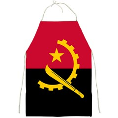 Flag Of Angola Full Print Aprons