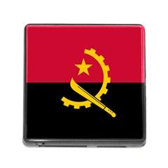 Flag Of Angola Memory Card Reader (square)