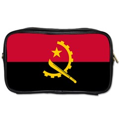 Flag Of Angola Toiletries Bags