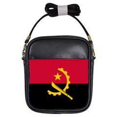 Flag Of Angola Girls Sling Bags