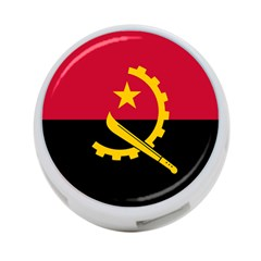 Flag Of Angola 4 Port Usb Hub (one Side)